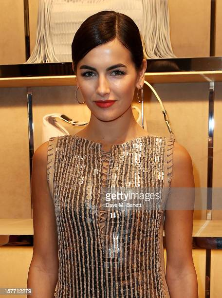 Camilla Belle attends the launch of the Salvatore Ferragamo London Flagship Store on Old Bond Street on December 5 2012 in London England