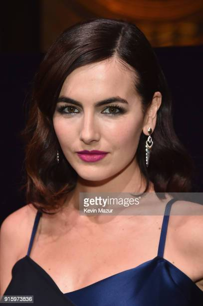 Camilla Belle attends the Stuart Weitzman FW18 Presentation and Cocktail Party at The Pool on February 8 2018 in New York City