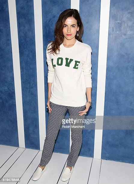 Camilla Belle attends Tory Sport Store Opening at Tory Sport on April 6 2016 in New York City