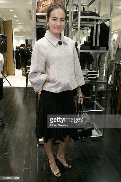 Camilla Belle during Club Monaco Hosts Cashmere and Cocktails at Club Monaco in Beverly Hills CA United States