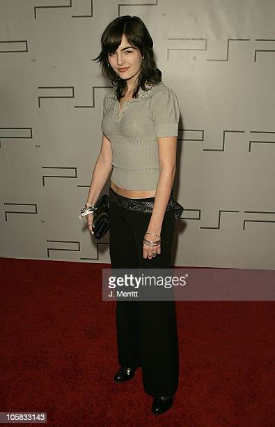 Camilla Belle during PSP North American Launch Party and Fashion Show at The Pacific Design Center in West Hollywood California United States