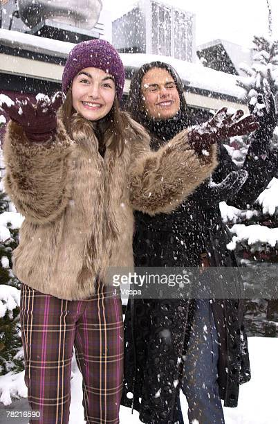 Camilla Belle Jordana Brewster Sundance Film Festival 2001 The Invisible Circus Portraits Park City Utah USA January 25 2001