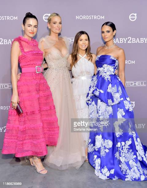 Camilla Belle Molly Sims Monique Lhuillier and Jordana Brewster attend the 2019 Baby2Baby Gala presented by Paul Mitchell on November 09 2019 in Los...