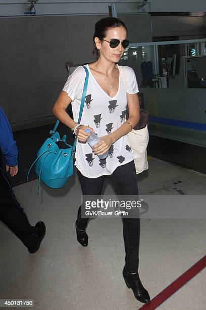 Camilla Belle seen at LAX on June 05 2014 in Los Angeles California