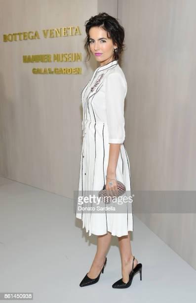 Camilla Belle wearing Bottega Veneta at the Hammer Museum 15th Annual Gala in the Garden with Generous Support from Bottega Veneta on October 14 2017...