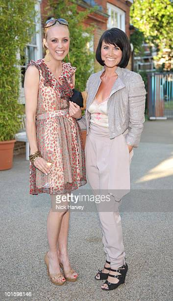 Camilla Dallerup and Dawn Steele attend the Dogs Trust Honours Awards at Jasmine Studios on June 3 2010 in London England