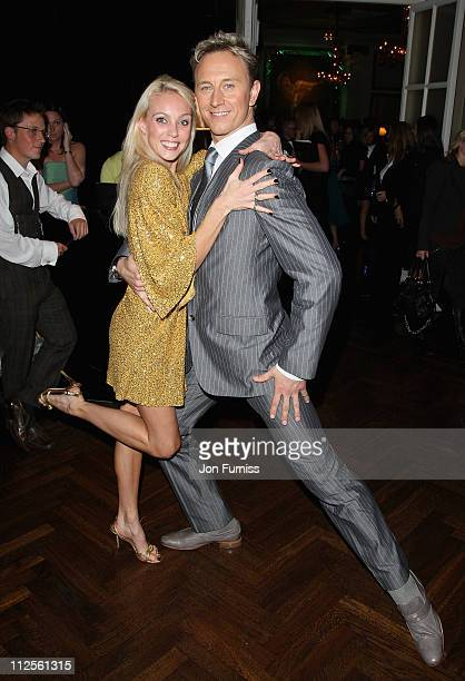 Camilla Dallerup and Ian Waite attends the Specsavers Spectacle Wearer Of The Year 2007 Awards in aid of Diabetes UK held at the Waldorf Hilton Hotel...