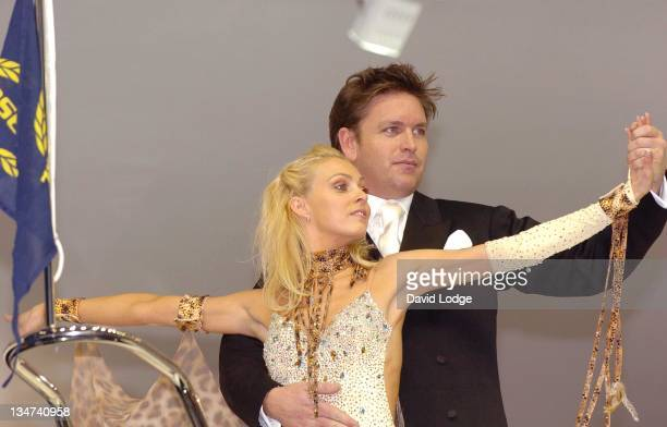 Camilla Dallerup and James Martin during Schroders London International Boat Show - Photocall - January 6, 2006 at ExCeL in London, Great Britain.