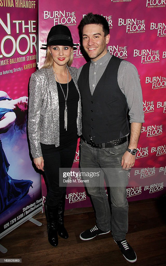 Burn The Floor - Press Night - After Party : News Photo