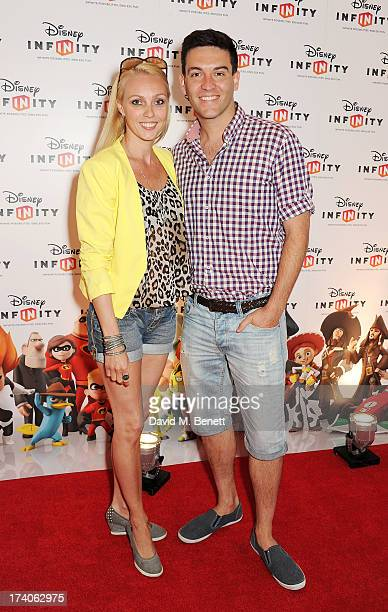 Camilla Dallerup and Kevin Sacre attend an exclusive launch event for upcoming videogame 'Disney Infinity', released nationwide on August 23rd, at...