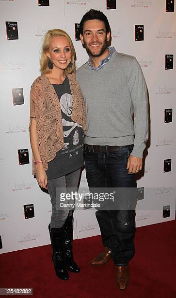 Camilla Dallerup and Kevin Sacre attend Eddie Izzard's DVD Premiere at Cineworld Haymarket on November 18 2010 in London England