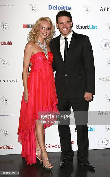 Camilla Dallerup and Kevin Sacre attend the FiFI UK Fragrance Awards 2013 at The Brewery on May 16, 2013 in London, England.