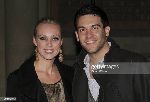 Camilla Dallerup and Kevin Sacre attend the Spectacle Wearer Of The Year Awards at the V A Museum on November 10 2010 in London England