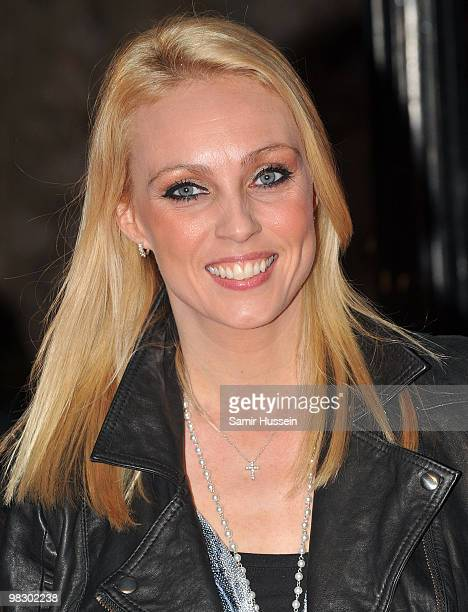 Camilla Dallerup arrives at the World Film Premiere of 'Clash of the Titans' at the Empire Leicester Square on March 29, 2010 in London, England.