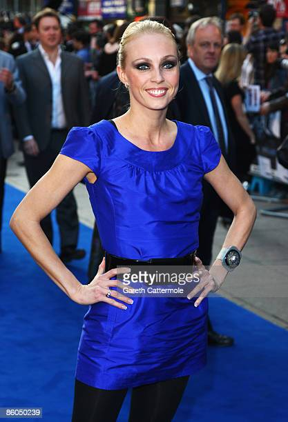 Camilla Dallerup arrives for the UK Film Premiere of 'Star Trek' at the Empire Leicester Square on April 20 2009 in London England