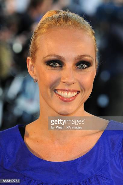 Camilla Dallerup arriving for the UK Film Premiere of Star Trek at the Empire Leicester Square London