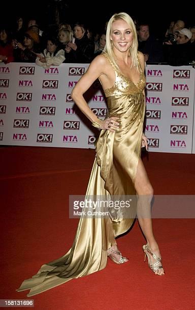 Camilla Dallerup At The National Tv Awards At The Royal Albert Hall In London
