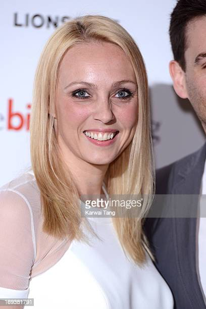 Camilla Dallerup attends a special screening of 'The Big Wedding' at May Fair Hotel on May 23 2013 in London England