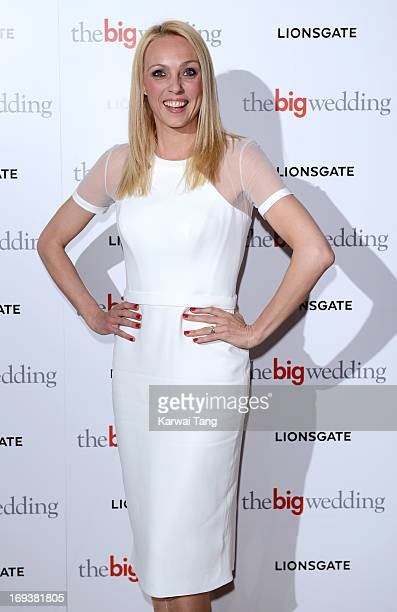 Camilla Dallerup attends a special screening of 'The Big Wedding' at May Fair Hotel on May 23, 2013 in London, England.