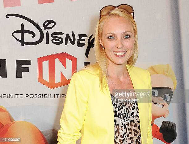 Camilla Dallerup attends an exclusive launch event for upcoming videogame 'Disney Infinity', released nationwide on August 23rd, at Millbank Tower on...