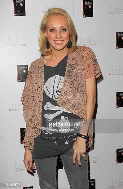 Camilla Dallerup attends Eddie Izzard's DVD Premiere at Cineworld Haymarket on November 18 2010 in London England