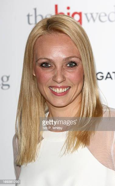 Camilla Dallerup attends Special screening of 'The Big Wedding' at May Fair Hotel on May 23, 2013 in London, England.