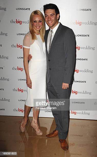 Camilla Dallerup attends Special screening of 'The Big Wedding' at May Fair Hotel on May 23 2013 in London England