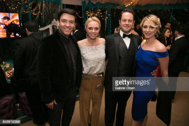 Camilla Dallerup attends the Circus Magazine Oscars Celebration Hosted By Steve Shaw and Jonas Tahlin, CEO Absolut Elyx Sponsored by Volvo and...