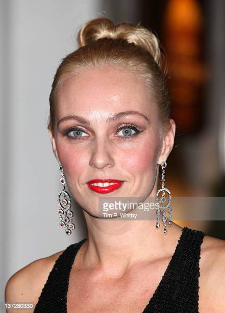 Camilla Dallerup attends the Daily Mail Inspirational Woman of The Year Awards at London Marriott Hotel on January 18 2012 in London England