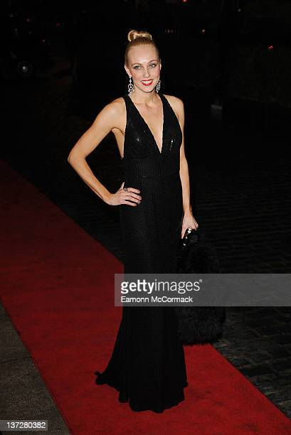 Camilla Dallerup attends the Daily Mail Inspirational Woman of The Year Awards at London Marriott Hotel on January 18, 2012 in London, England.