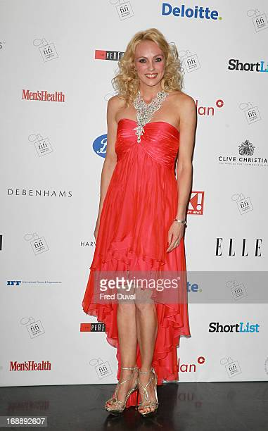 Camilla Dallerup attends The FiFi UK Fragrance Awards at The Brewery on May 16 2013 in London England