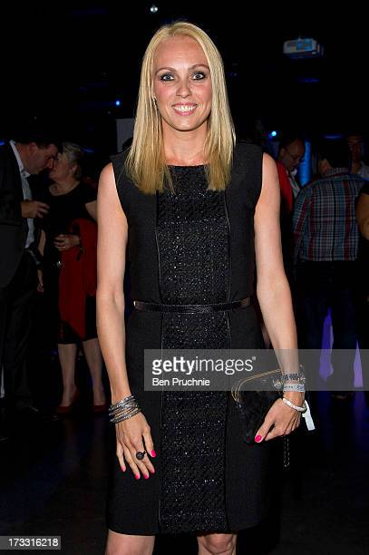 Camilla Dallerup attends the Infiniti Gate Experience party at the London Film Museum on July 11, 2013 in London, England.