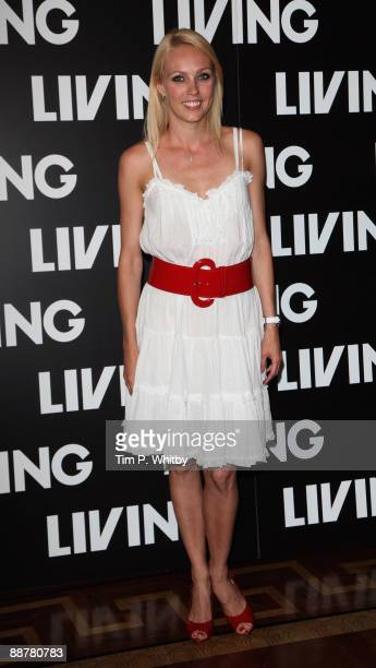 Camilla Dallerup attends the launch of Living TV's Summer Schedule at Somerset House on July 1 2009 in London England