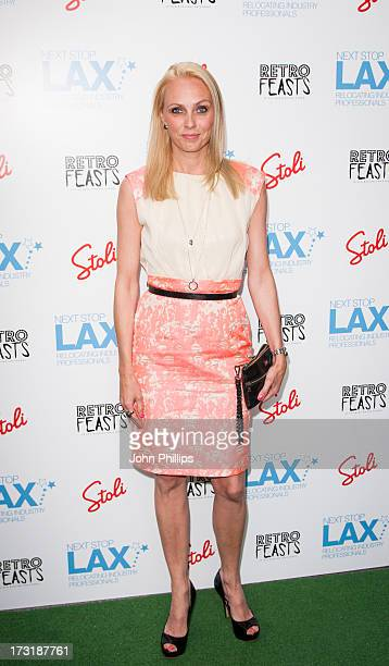 Camilla Dallerup attends the London launch party of Andy Newton Lee's 'Next Stop LAX' on July 9, 2013 in London, England.