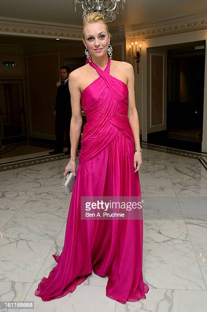 Camilla Dallerup attends the Make-A-Wish Foundation's UK Valentine's Ball 2013 held at The Dorchester, on February 9, 2013 in London, England.