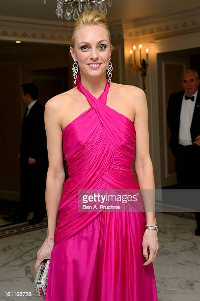 Camilla Dallerup attends the MakeAWish Foundation's UK Valentine's Ball 2013 held at The Dorchester on February 9 2013 in London England