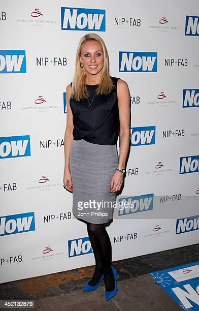 Camilla Dallerup attends the Now Magazine Christmas party at Soho Sanctum Hotel on November 26, 2013 in London, England.
