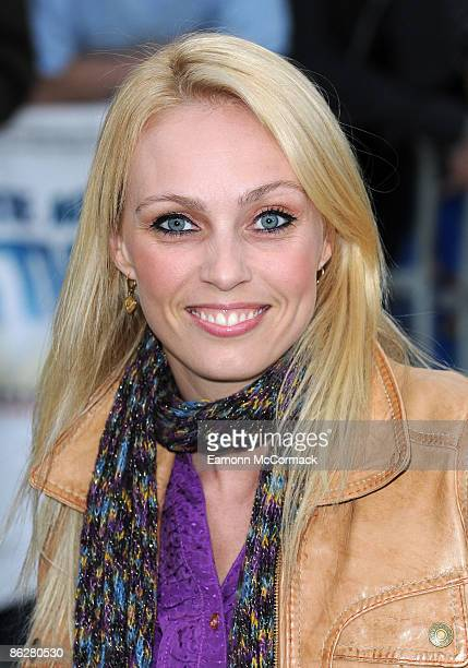 Camilla Dallerup attends the premiere of The Age of Stupid at Leicester Square gardens on March 15 2009 in London England
