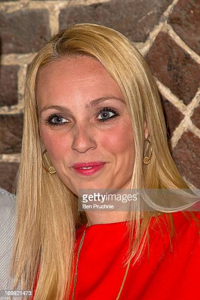 Camilla Dallerup attends the press night of 'Blind Date' at Charing Cross Theatre on June 4, 2013 in London, England.