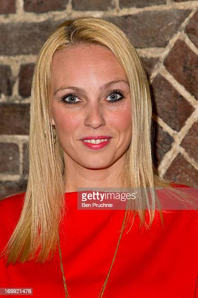 Camilla Dallerup attends the press night of 'Blind Date' at Charing Cross Theatre on June 4 2013 in London England