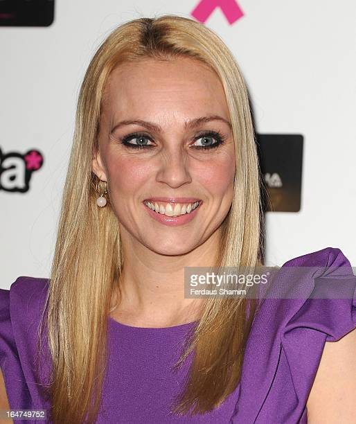 Camilla Dallerup attends the Social TV Awards at BAFTA on March 27, 2013 in London, England.