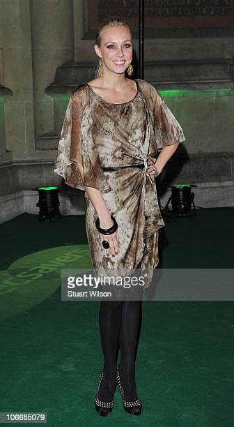 Camilla Dallerup attends the Spectacle Wearer Of The Year Awards at the V A Museum on November 10 2010 in London England