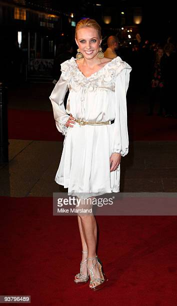 Camilla Dallerup attends the World Premiere of 'Nine' at Odeon Leicester Square on December 3, 2009 in London, England.