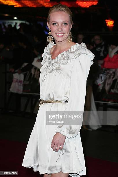 Camilla Dallerup attends the World Premiere of 'Nine' at Odeon Leicester Square on December 3 2009 in London England