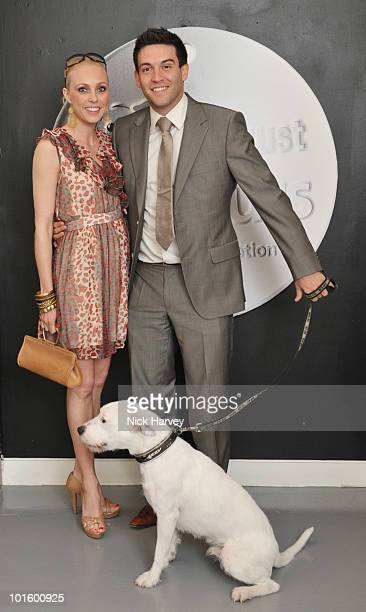 Camilla Dellarup and Kevin Sacre attend the Dogs Trust Honours Awards at Jasmine Studios on June 3 2010 in London England