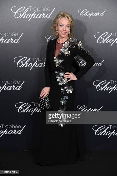 Camilla Di Borbone attends the Chopard Trophy during the 71st annual Cannes Film Festival at Martinez Hotel on May 14 2018 in Cannes France