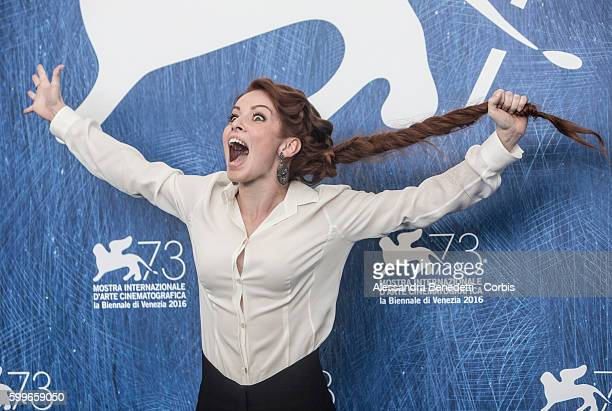 Camilla Diana attends a photocall for 'Tommaso' during the 73rd Venice Film Festival at Palazzo del Casino on September 6, 2016 in Venice, Italy.