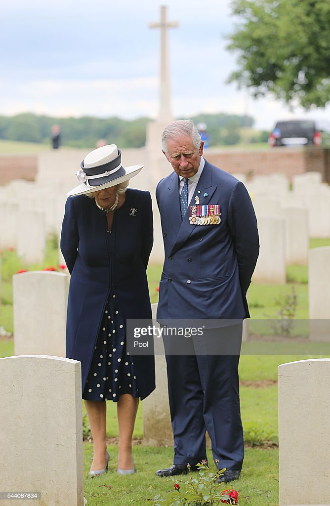 Somme Centenary Commemorations In France : News Photo