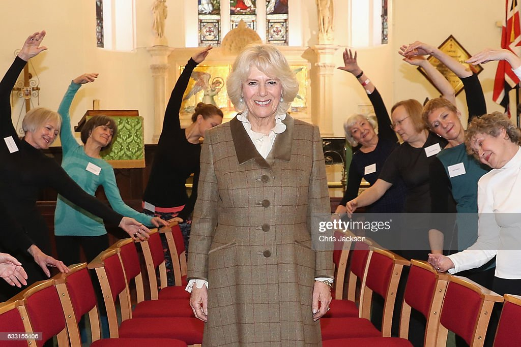 The Duchess Of Cornwall Visits Bath : News Photo