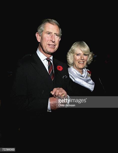 Camilla Duchess of Cornwall and Prince Charles Prince of Wales arrive at Islamabad International airport on day one of a week long tour of the...